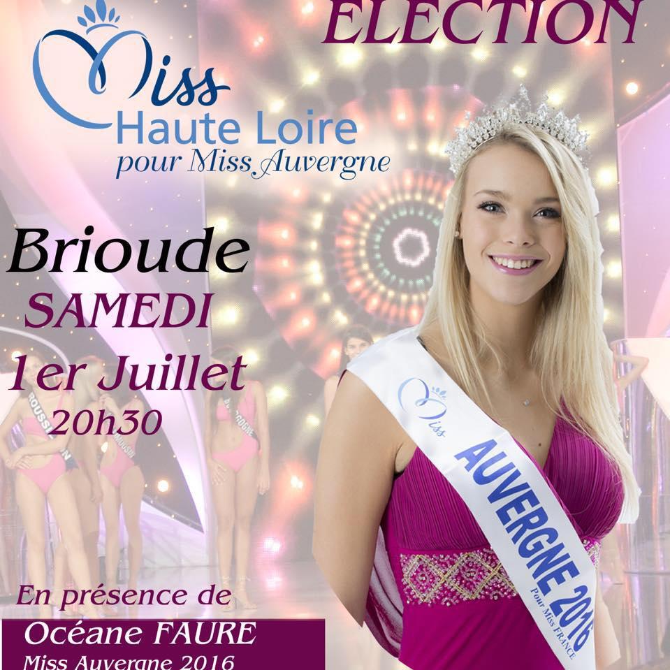 ELECTION MISS HAUTE-LOIRE