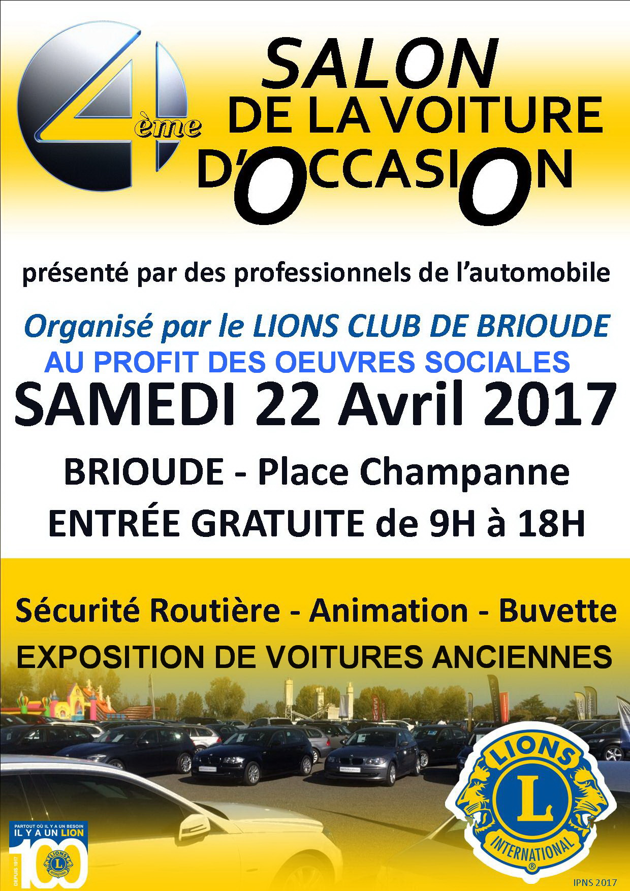Agenda site officiel de la mairie de brioude for Salon de voiture
