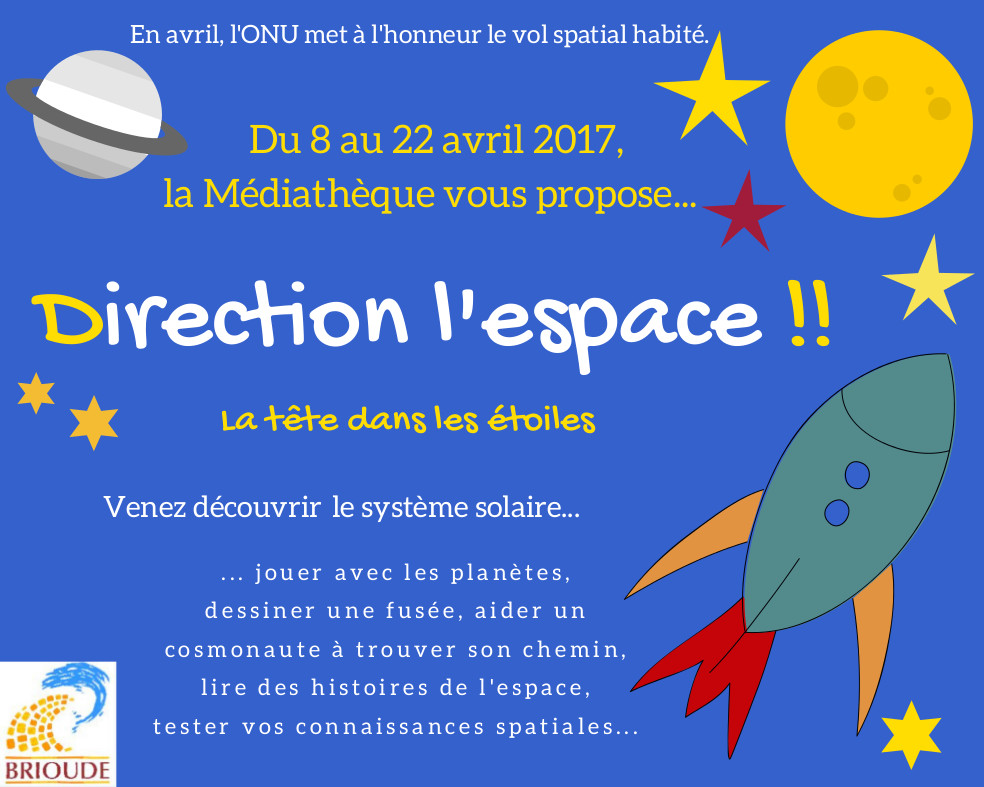 DIRECTION L'ESPACE !!