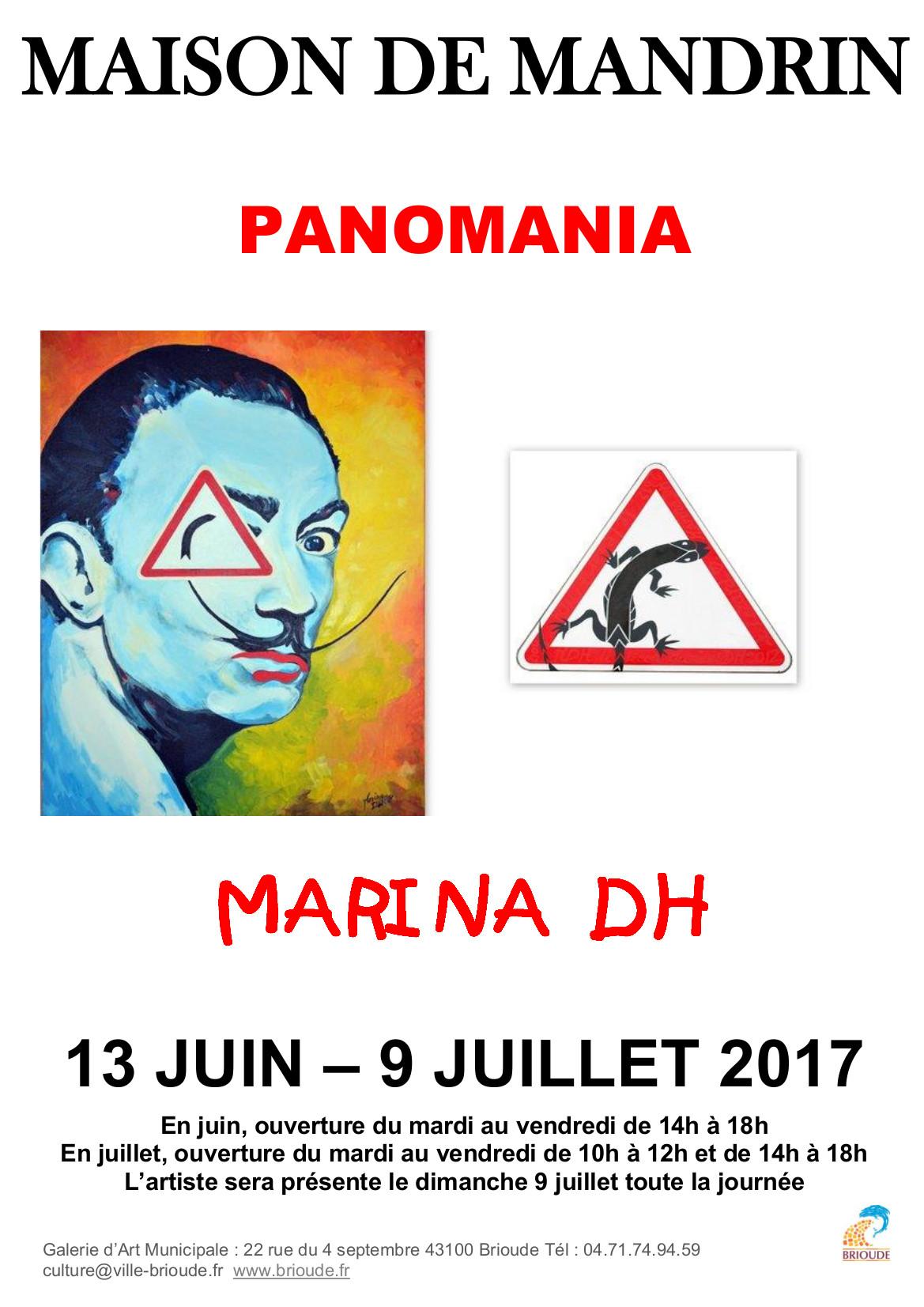 EXPOSITION MAISON DE MANDRIN : PANOMANIA