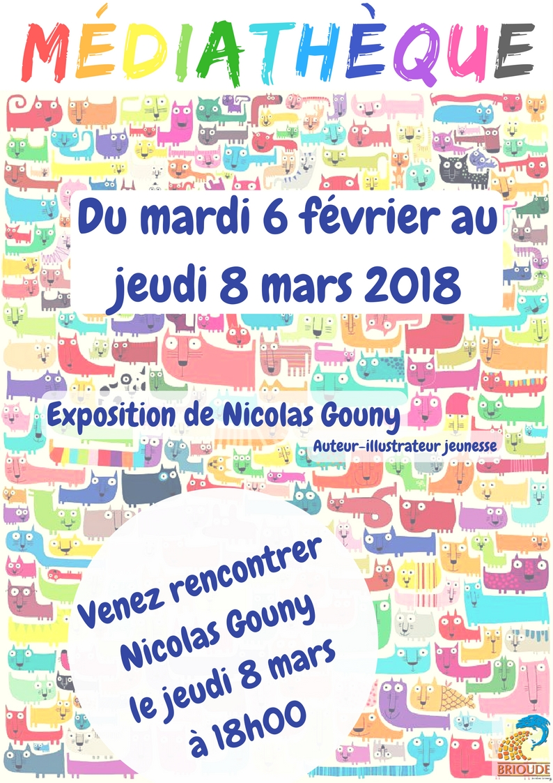 Exposition des illustrations de Nicolas Gouny