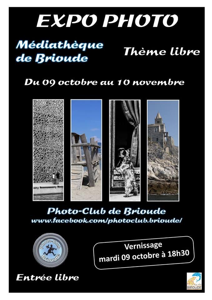 Exposition photographique du PhotoClub de Brioude