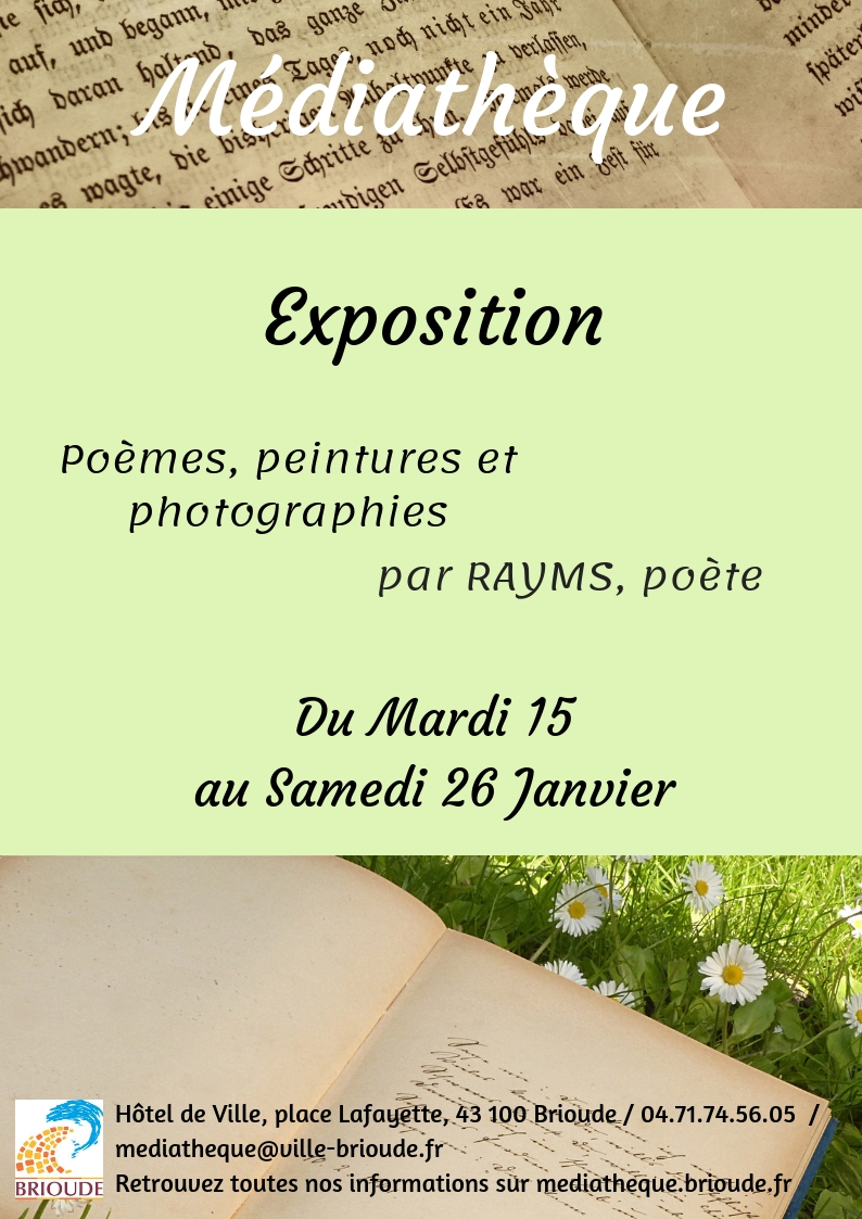 EXPOSITION PAR RAYMS