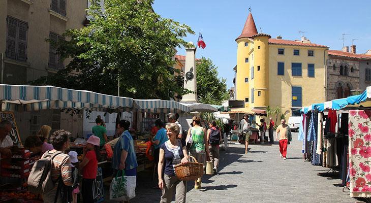 Marché de Brioude