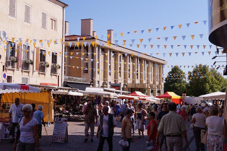 Marché hebdomadaire - 2 place lafayette