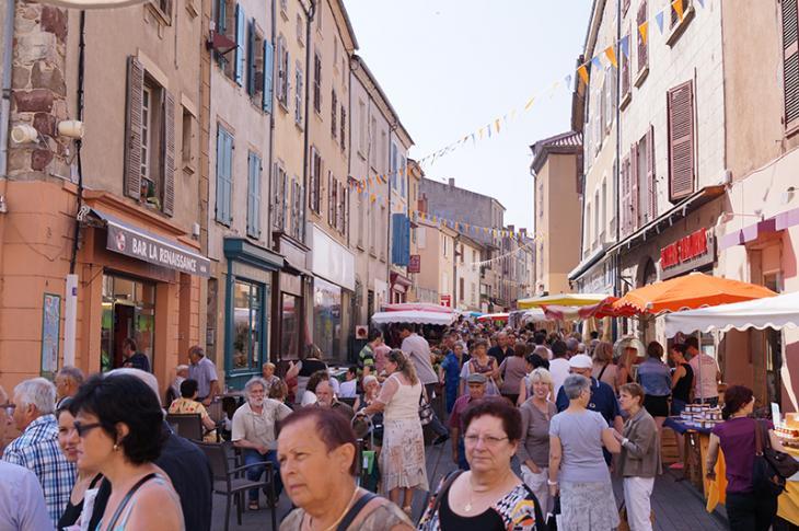 Marché hebdomadaire - rue Sébastopole